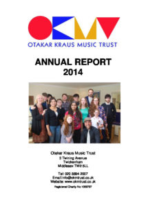 OKMT Annual Report & Accounts 2014